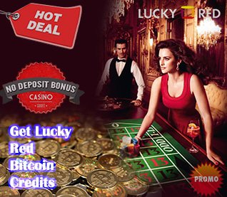 Get Lucky Red Bitcoin Credits axim-games.com